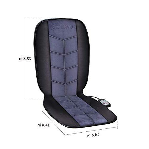 COMFIER Heated Car Car Truck Heater with Full Heated Seat Cover Car,Home,Office Chair Use