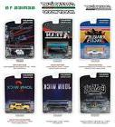 HOLLYWOOD SERIES / RELEASE 19, SET OF 6 CARS 1/64 DIECAST BY