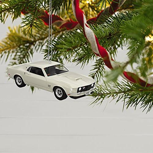 Hallmark 2017 American 1969 Ford Mustang Dated Christmas