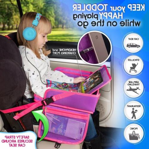 Kids Seat Tray - Tray Table For Baby Travel