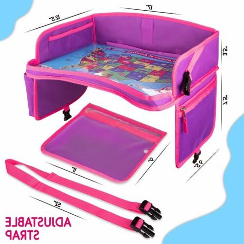 Kids Seat Travel Tray - Table Toddler - Baby Travel Desk