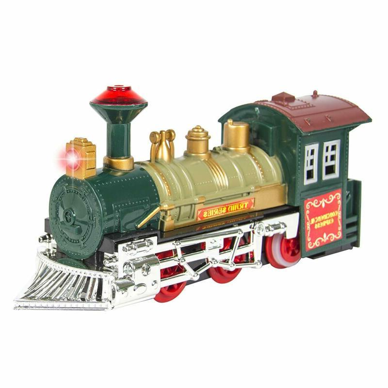 Best Products Kids Classic Electric Railway Car Track Play