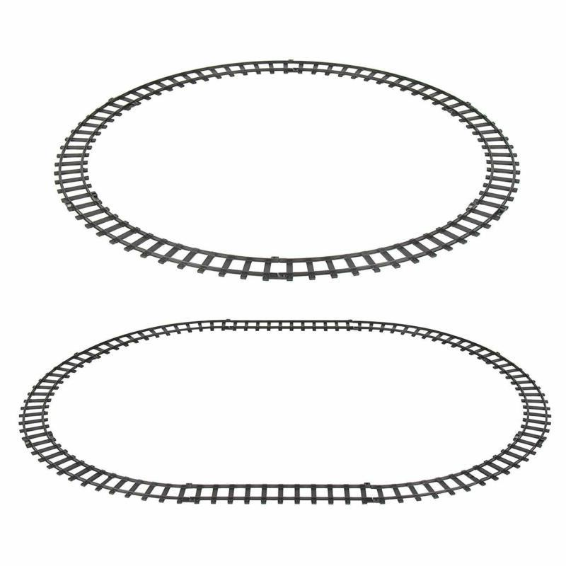 Classic Electric Railway Car Track for Play