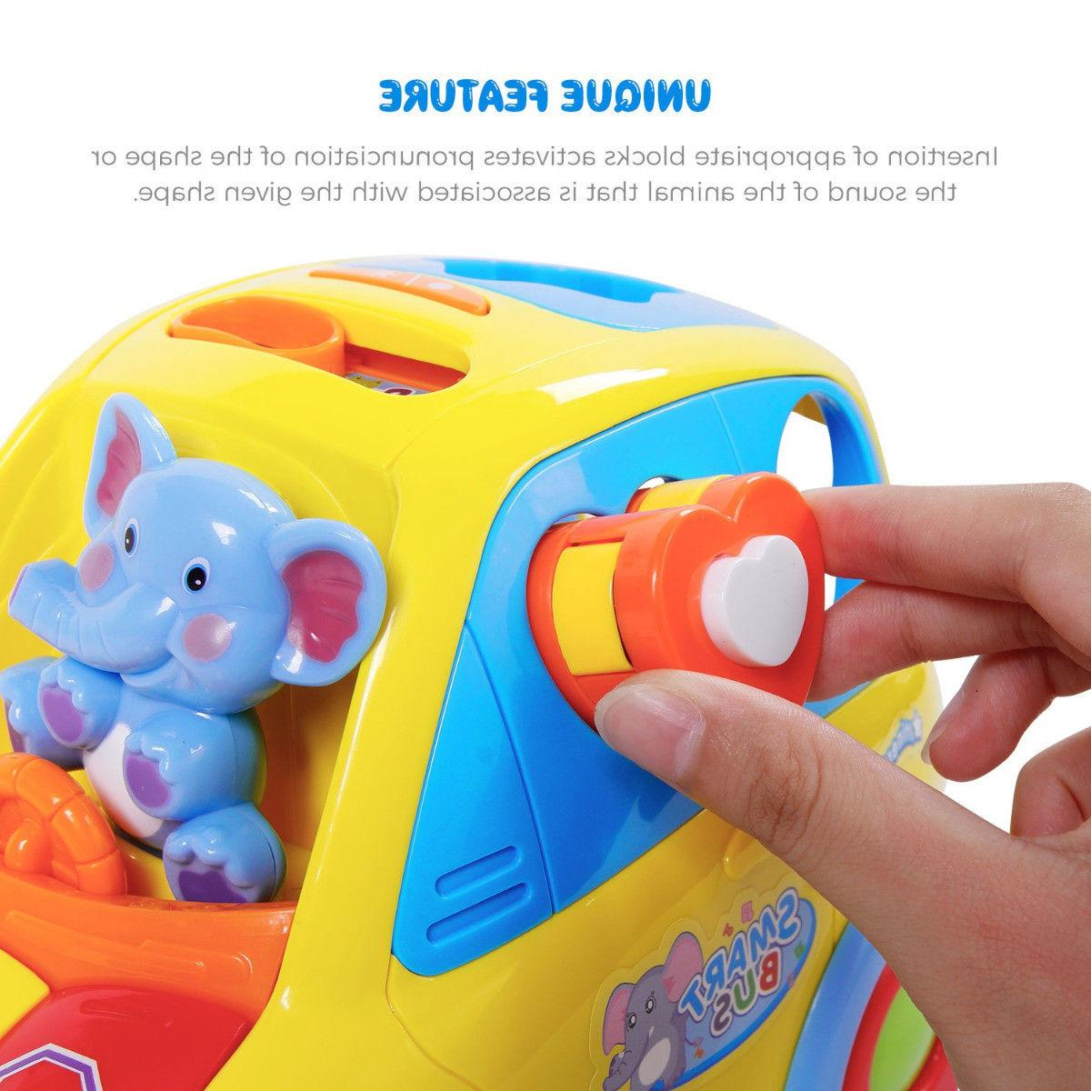 Kids Cotton Toy Transforming w/ Sound Xmas