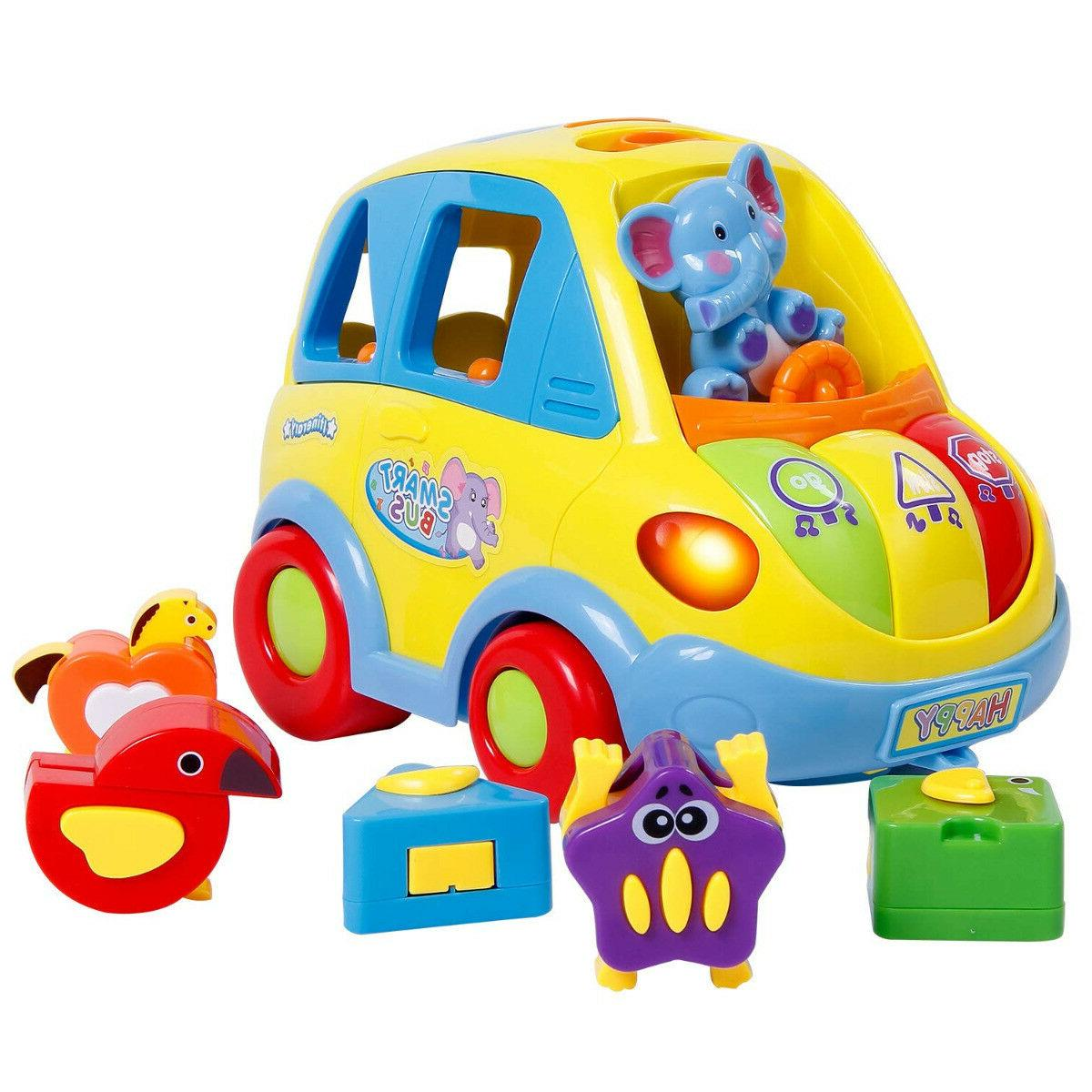 kids cotton car toy transforming animal block