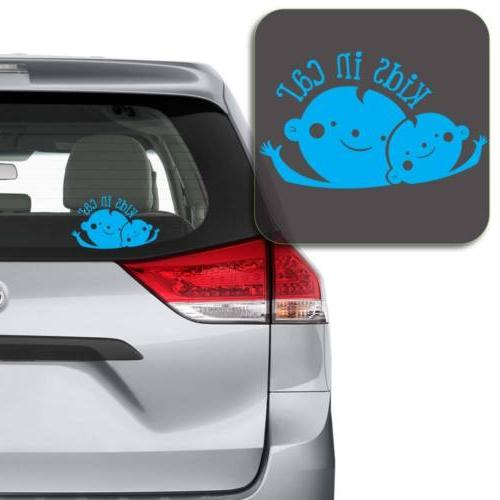 Kids Car Sticker Laptop and More