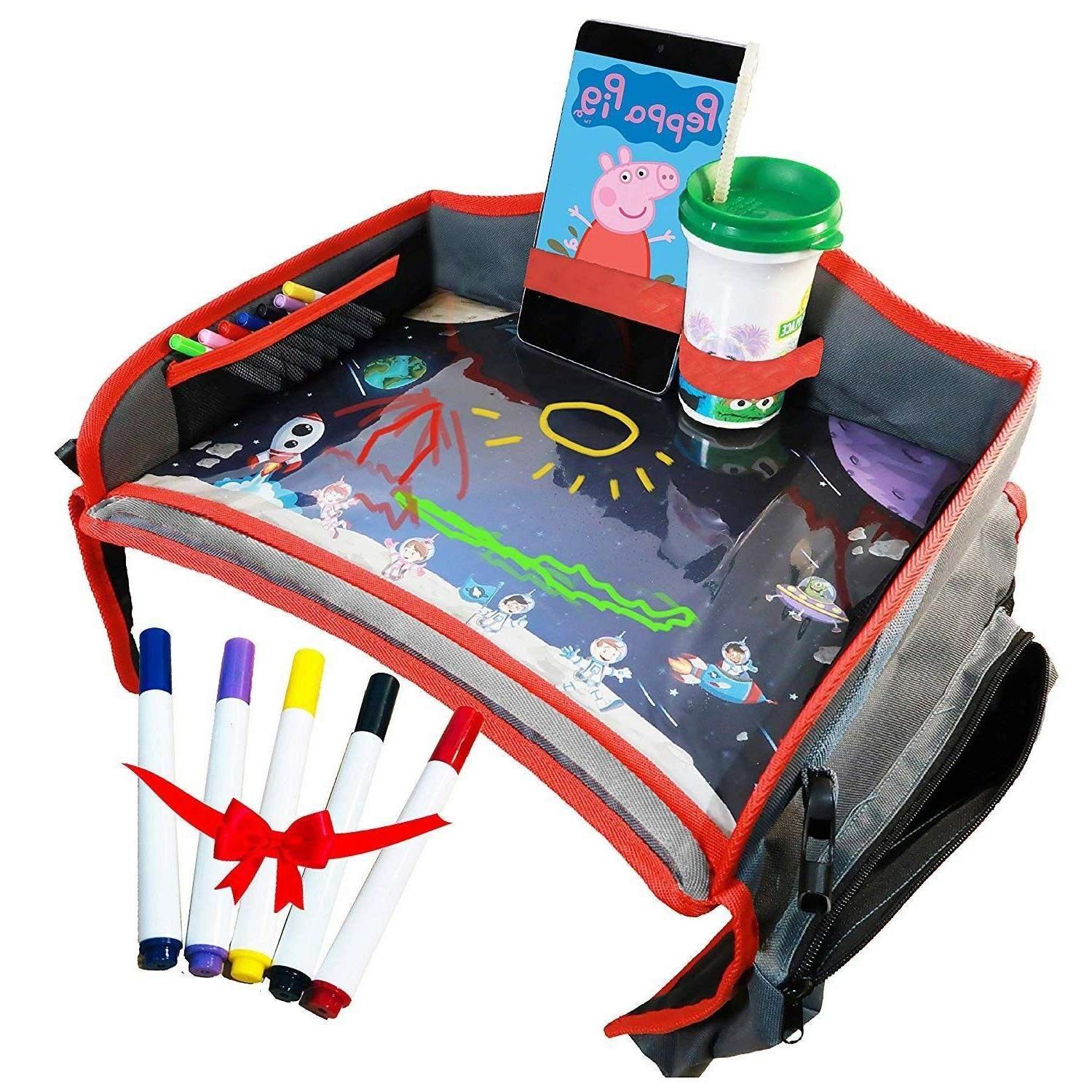 kids travel tray for car seat stroller