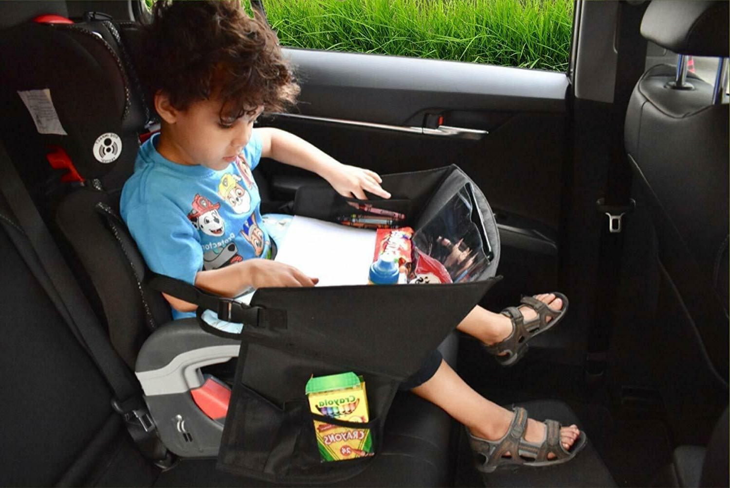 Kids Travel Tray for Cars - Table Dinosaurs
