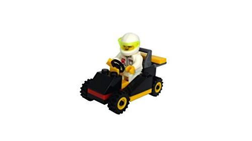 Building Brick Vehicles with Minifigures Party Toppers, Build Fun!
