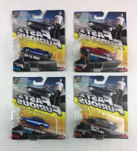 lot of 4 fast and furious furious