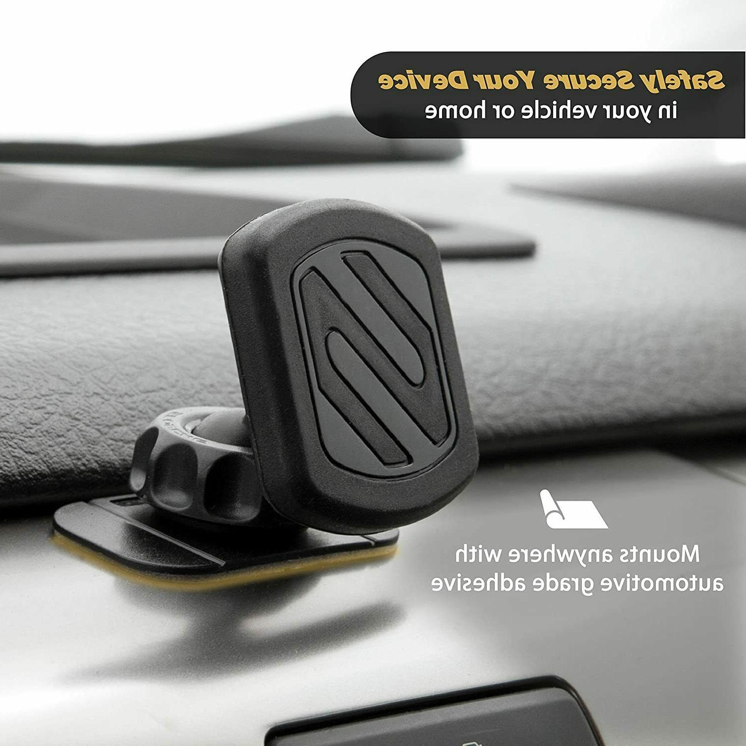 SCOSCHE MAGDM Universal Magnetic Mount Holder Mobile Devices