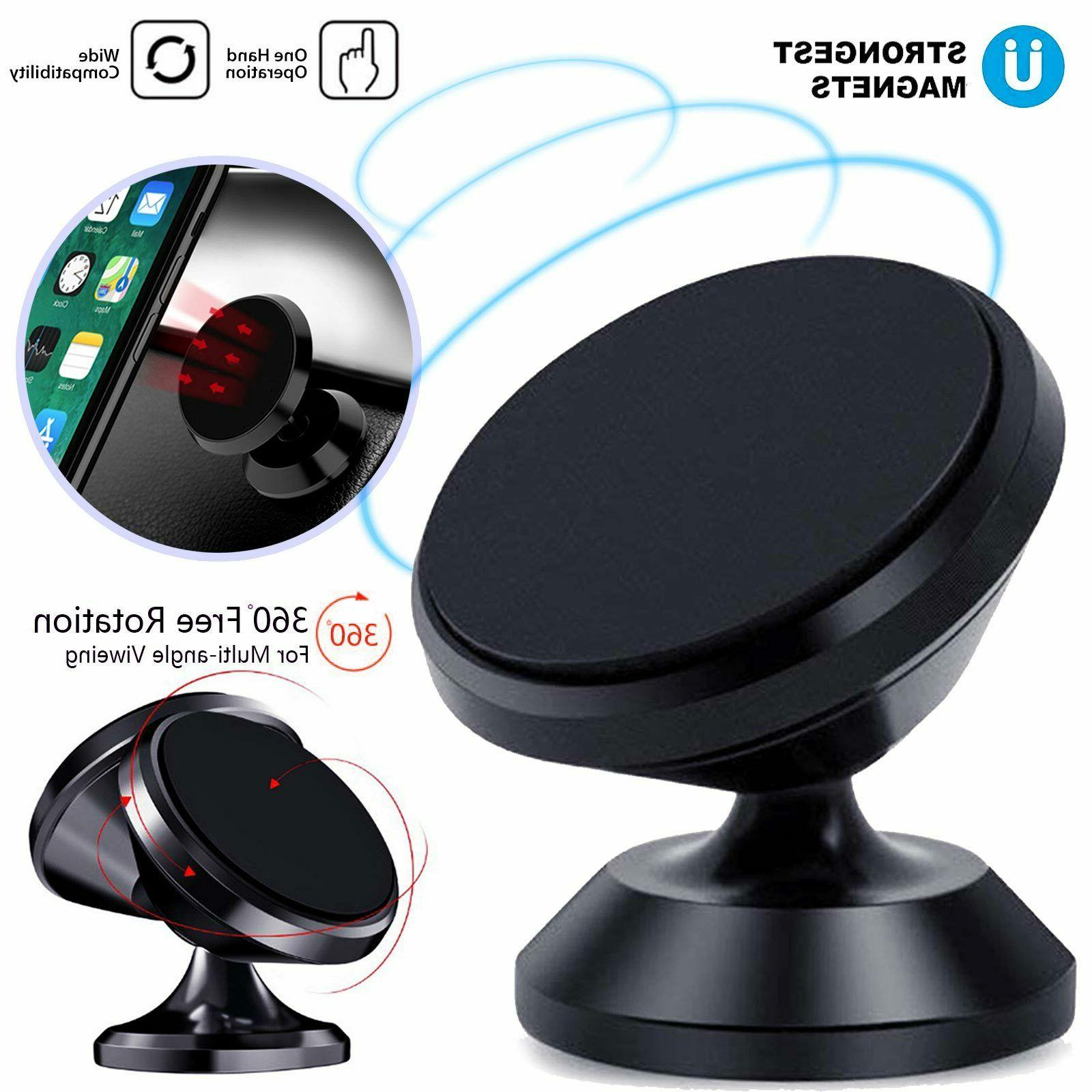 Magnetic Car Phone Holder Dashboard For iPhone Android