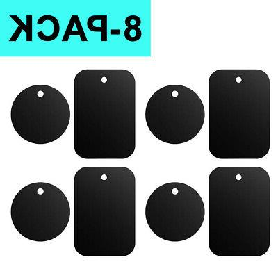 metal plates adhesive sticker replace 8 pack