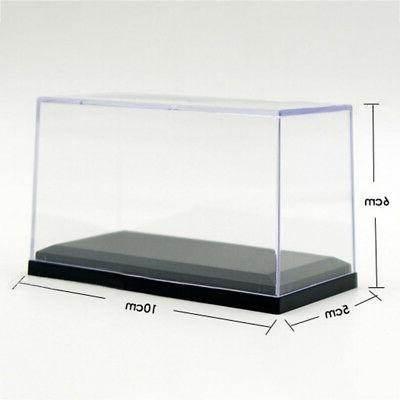 Mini Acrylic Display Case For Black Base Diecast Toy