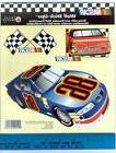 NASCAR RACE CARS wall stickers 3 big decals room decor finis