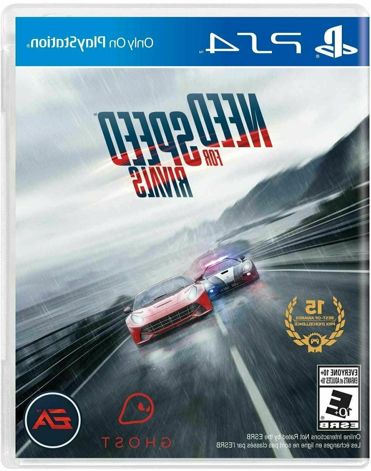 need for speed playstation 4 car racing