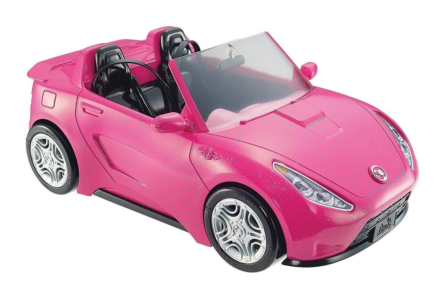 NEW Car Pink Mattel Doll Vehicle,for sweet gift