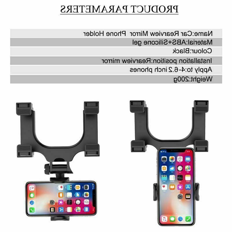 New Universal Mirror Mount Stand Holder Cradle For