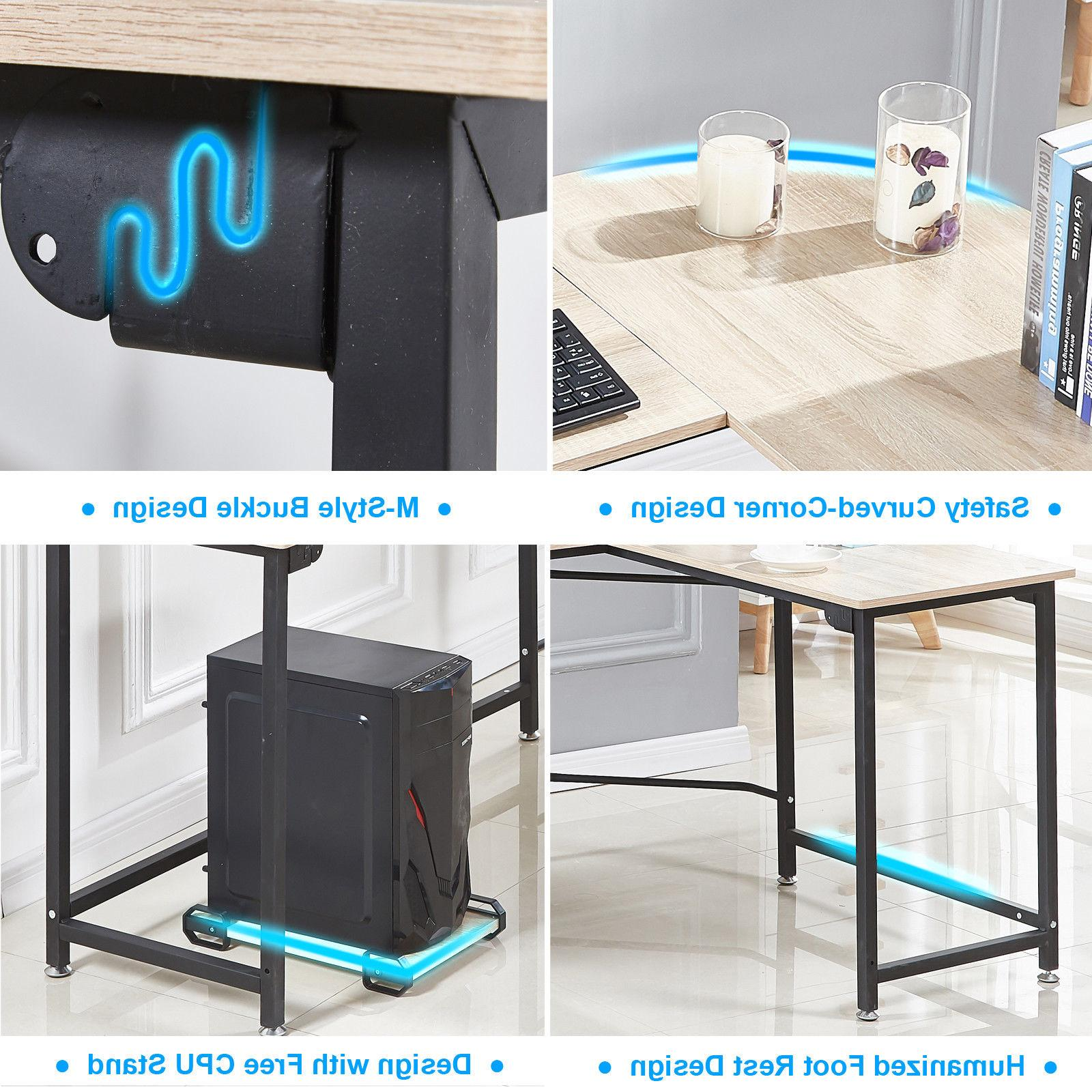 High Back Racing Style Office or L-Shape Desk
