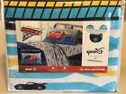 New Disney Pixar Cars 3 Microfiber 3 Piece Twin Sheet Set -