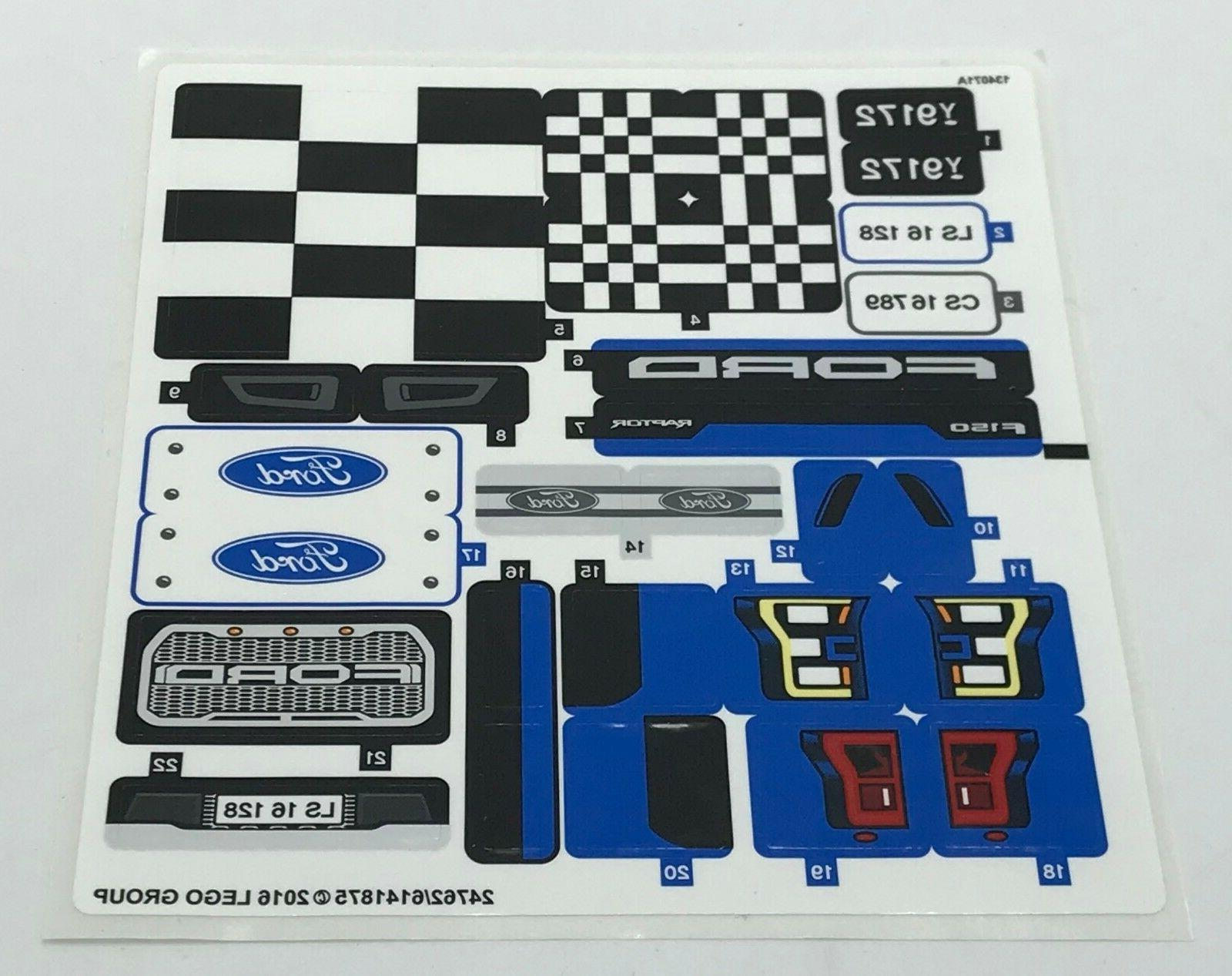 new sticker for set 75875 ford car