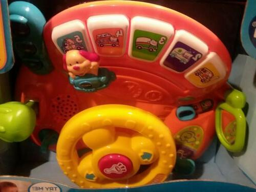 NEW Turn and Learn Baby Car Kid Gift