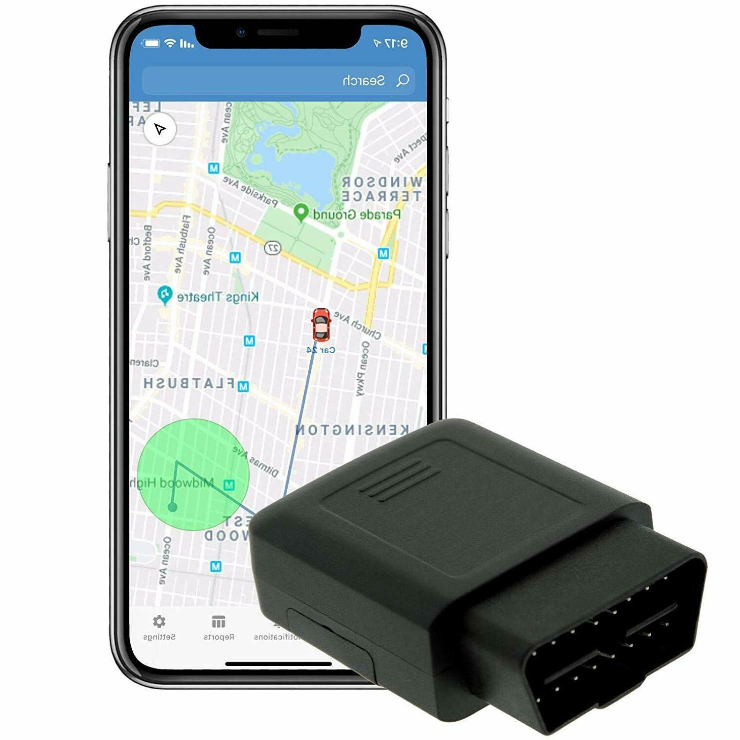 obd ii plug cellular real