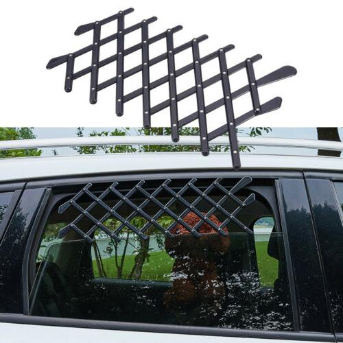 pet kids window retractable fence for car