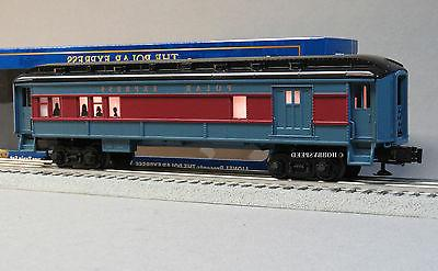 LIONEL POLAR EXPRESS LIGHTED COMBINATION CAR ADD ON o gauge