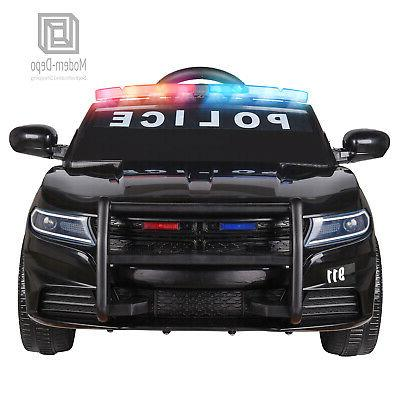 Police Ride for with 2.4G Remote