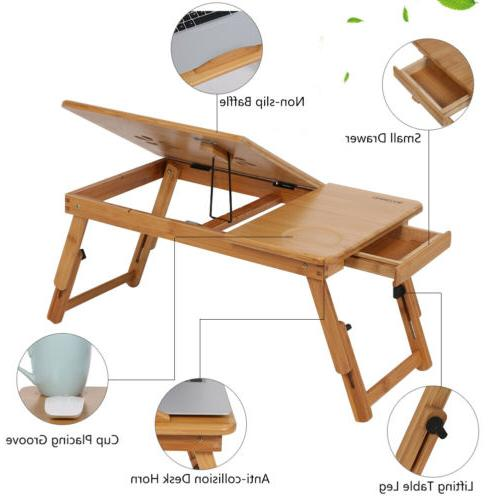 Portable Sofa Folding for Laptop Notebook Desk Stand US