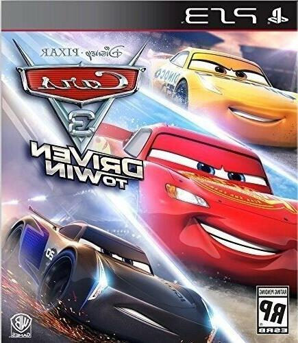 PLAYSTATION 3 PS3 VIDEO GAME CARS: DRIVEN TO WIN BRAND NEW A