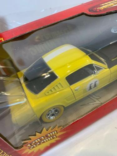 RARE STRIKE Johnny Car 1965 For Mustang Yellow