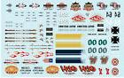 Auto World Rat Rod Graphics Decal 1:64 Scale Diecast,  HO Sl