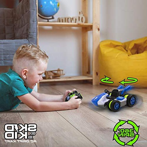 USA Toyz Car Remote - Remote for Boys w/ RC Car Wheels, Fast Electric Kids