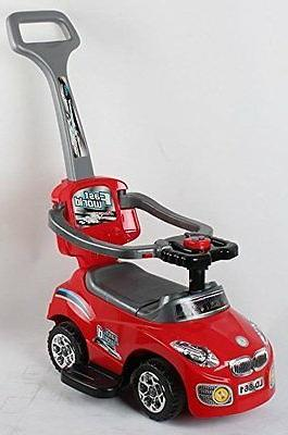 red 861kid ride on 3 in 1