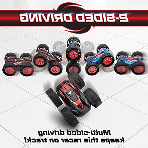 Remote Boys or Cyclone Double Sided RC Cars Adults or Kids, Off Radio Toys