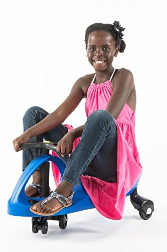 The Original by PlaSmart – Blue Ride On Ages 3 yrs No gears, or pedals, Wiggle for endless fun
