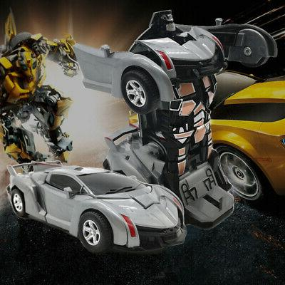 Robot Car Child Toys Toddler Toy For Gift US