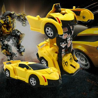 Robot Transformers Toys Vehicle Toy For Boys Gift US