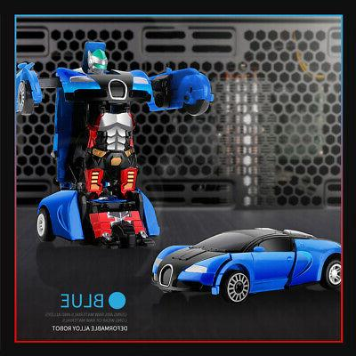 Robot Car Child Toys Toddler Toy For Xmas Gift US