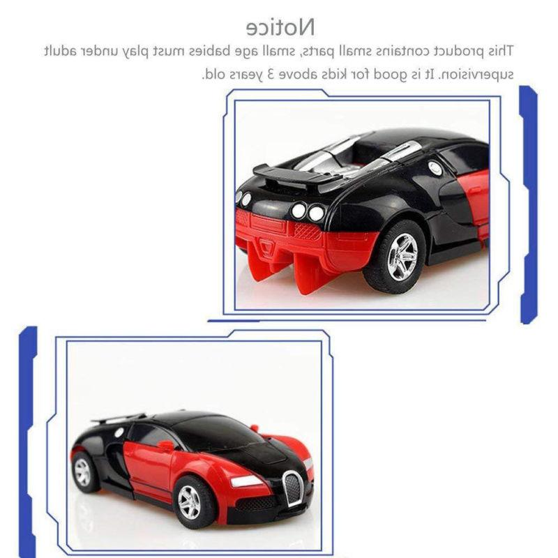 Toys Transformers Car Kids Toddler Toy Funny Play Gift