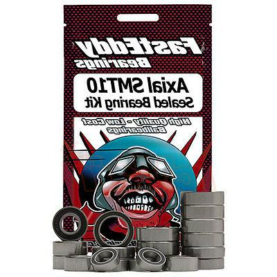 FastEddy Bearings Sealed Bearing Kit For Axial SMT10 4WD RC