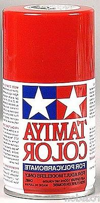 Tamiya Spray Red RC Car Paint for Lexan Bodies  PS-2