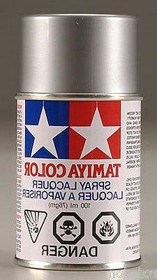 Tamiya Spray Silver RC Car Paint for Polycarbonate Bodies  P