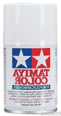 Tamiya Spray White RC Car Paint for Polycarbonate Bodies  PS