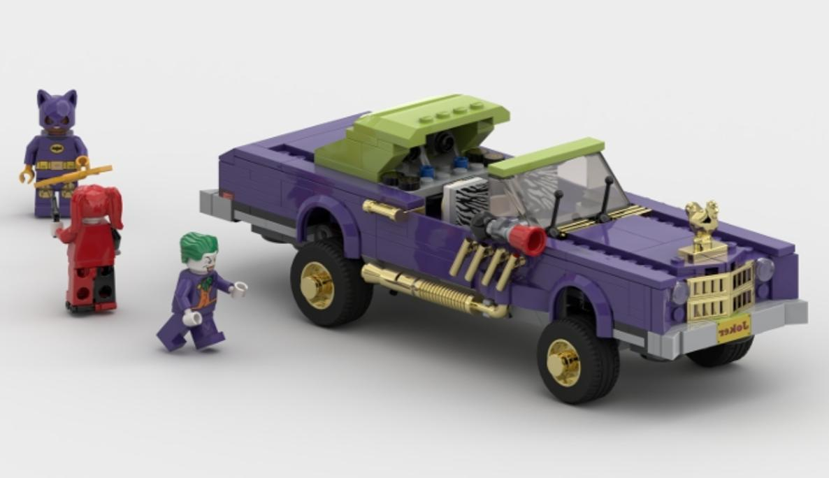 Car CUSTOM ONLY for LEGO