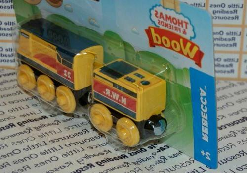 Thomas Friends Wood REBECCA Train FULLY PAINTED Fisher Price FXT43