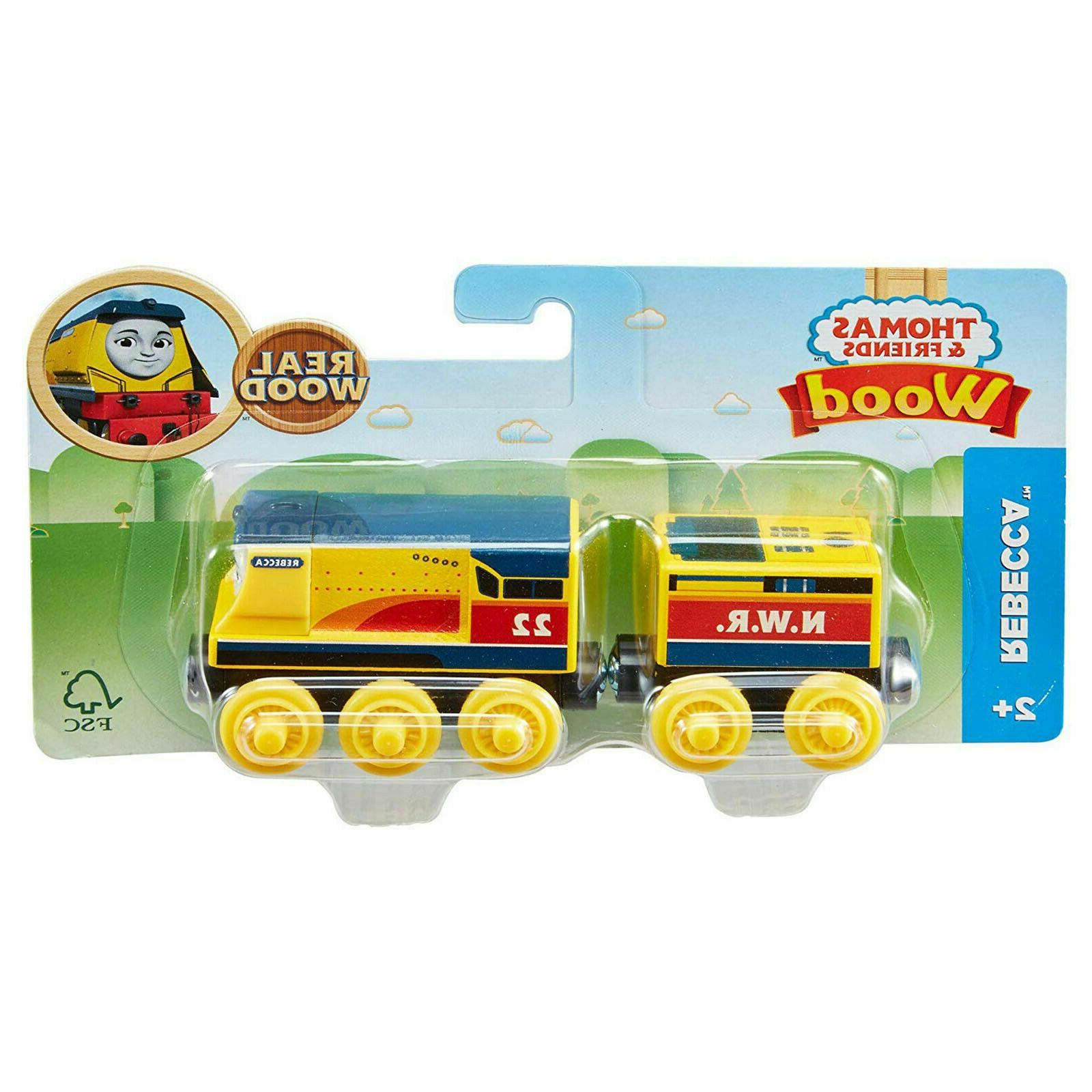thomas friends wood rebecca train fully painted