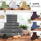 8 Piece Towel Set includes Bath Towel Hand Towel Washcloth U